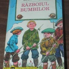 LOUIS PERGAUD - RAZBOIUL BUMBILOR colectia rao pentru copii - Carte educativa