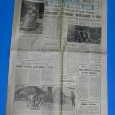 ZIARUL GAZETA SPORTURILOR 1990 NR - 21 - 18 IANUARIE (01020