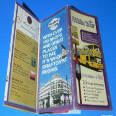 HARTA TRASEU AUTOBUZ DUBLIN TOUR - Harta Turistica