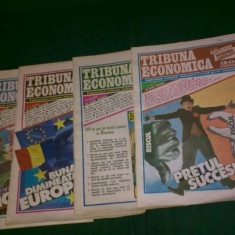 Lot 4 numere revista TRIBUNA ECONOMICA, 1993