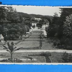 Carte postala FOTOGRAFIE VECHE BAILE GOVORA UN CARTIER DE VILE FOTOFILM CLUJ 1939. NECIRCULATA (v046 - Carte Postala Oltenia dupa 1918