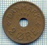 6396 MONEDA - DANEMARCA (DANMARK) - 2 ORE - ANUL 1938 -starea care se vede, Europa