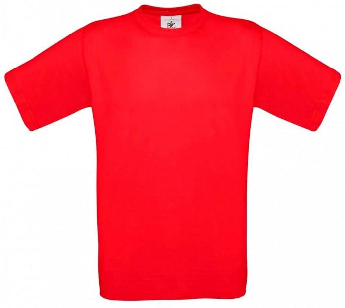 Tricou B&C Collection - rosu - nou - M foto mare