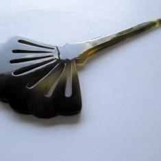Superb ac decorativ pentru coc in stil japonez (hairstick). Sculptat din corn. - Clama