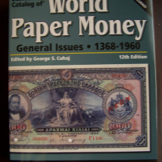 World Paper Money - General Issues 1368 - 1960 (catalog bancnote). Include DVD