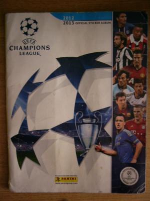 MRHAB LC - ALBUM STICKERE - UEFA - LIGA CAMPIONILOR EUROPENI - ED 2012 - 2013 foto