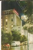 CPI (B5390) CARTE POSTALA - BRASOV. HOTEL CARPATI, CIRCULATA 1966, AUTOBUZ VECHI