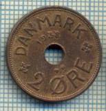 6392 MONEDA - DANEMARCA (DANMARK) - 2 ORE - ANUL 1938 -starea care se vede, Europa