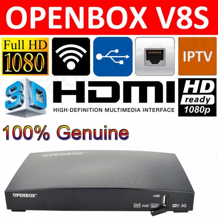 Openbox V8S CPU600Mhz WebTV Alt  Dreambox CCcam + WIFI
