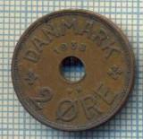 6394 MONEDA - DANEMARCA (DANMARK) - 2 ORE - ANUL 1938 -starea care se vede, Europa