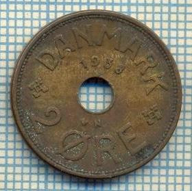 6391 MONEDA - DANEMARCA (DANMARK) - 2 ORE - ANUL 1938 -starea care se vede foto