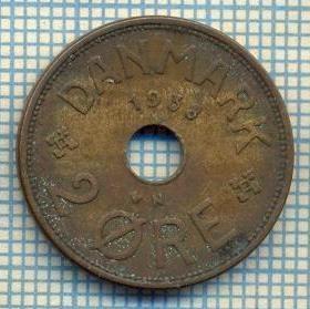 6391 MONEDA - DANEMARCA (DANMARK) - 2 ORE - ANUL 1938 -starea care se vede