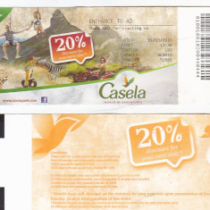 Pentru colectionari, bilet intrare Zoo Casela Nature Park, Mauritius