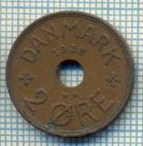 6395 MONEDA - DANEMARCA (DANMARK) - 2 ORE - ANUL 1938 -starea care se vede, Europa
