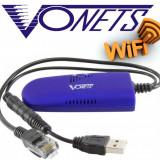 VONETS Wifi Wireless Bridge pentru Receptor Dreambox si Dispozitive Ethernet!