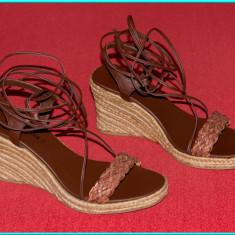 DE CALITATE → Sandale dama, frumoase, fiabile, aerisite, YESSICA → femei | nr 40, Culoare: Din imagine, Piele sintetica