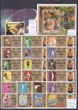 Serii complete, colite si mini block-uri tematice rare 10, Asia