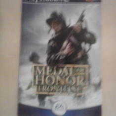 Manual - Medal of Honor Frontline - Playstation PS2 ( GameLand )