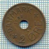 6405 MONEDA - DANEMARCA (DANMARK) - 2 ORE - ANUL 1938 -starea care se vede, Europa