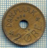 6384 MONEDA - DANEMARCA (DANMARK) - 2 ORE - ANUL 1938 -starea care se vede, Europa
