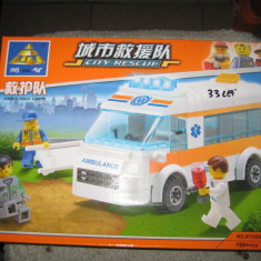 Lego ambulanta - Set de constructie