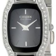 Citizen Women's EW9780-57E Eco-Drive Normandie Black | 100% original, import SUA, 10 zile lucratoare af22508 - Ceas dama Citizen, Elegant, Analog