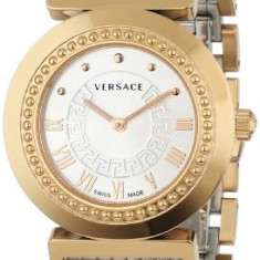 Versace Women's P5Q80D499 S089 Vanity Rose-Gold | 100% original, import SUA, 10 zile lucratoare af12408 - Ceas dama Versace, Elegant, Quartz, Analog