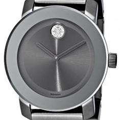 Movado Women's 3600103 Bold Gunmetal-Tone Bracelet | 100% original, import SUA, 10 zile lucratoare af22508 - Ceas dama Movado, Elegant, Quartz, Analog