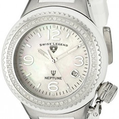 Swiss Legend Women's 11844D-WWSA Neptune White | 100% original, import SUA, 10 zile lucratoare af22508 - Ceas dama Swiss Legend, Casual, Analog