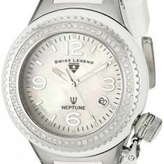 Swiss Legend Women's 11844D-WWSA Neptune White | 100% original, import SUA, 10 zile lucratoare af22508 - Ceas dama Swiss Legend, Casual, Analog