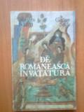 G0 De Romaneasca Invatatura - Silvestru Boatca George Sovu