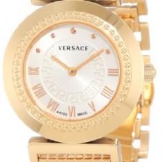 Versace Women's P5Q80D001 S080 Vanitas Rose | 100% original, import SUA, 10 zile lucratoare af12408 - Ceas dama Versace, Elegant, Quartz, Analog