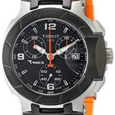 Tissot Women's T0482172705700 T-Race Black Chronograph | 100% original, import SUA, 10 zile lucratoare af22508, Sport, Quartz, Analog