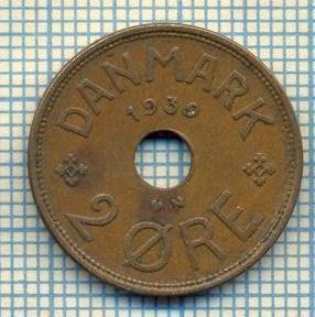 6432 MONEDA - DANEMARCA (DANMARK) - 2 ORE - ANUL 1939 -starea care se vede foto