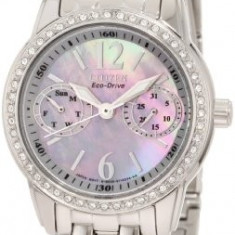 Citizen Women's FD1030-56Y Swarovski Crystal-Accented Stainless | 100% original, import SUA, 10 zile lucratoare af22508 - Ceas dama Citizen, Analog