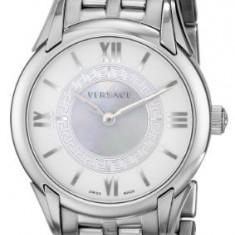 Versace Women's VFF030013 Dafne Stainless Steel | 100% original, import SUA, 10 zile lucratoare af22508 - Ceas dama Versace, Elegant, Quartz, Analog