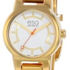 ESQ Movado Women's 07101413 Nova Gold-Plated | 100% original, import SUA, 10 zile lucratoare af22508 - Ceas dama Movado, Elegant, Quartz, Analog