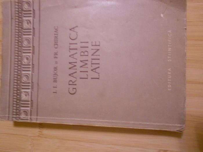 I. I. BUJOR--GRAMATICA LIMBII LATINE foto mare