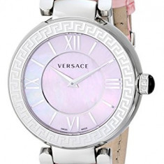 Versace Women's VNC020014 Leda Stainless Steel | 100% original, import SUA, 10 zile lucratoare af22508 - Ceas dama Versace, Elegant, Quartz, Analog