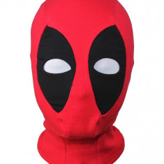 Masca cagula DeadPool Marvel X-men Halloween petrecere cosplay dead pool +CADOU!, Marime universala, Din imagine