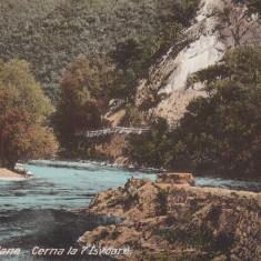 ROMANIA CARTE POSTALA BAILE HERCULANE CERNA LA 7 ISVOARE, LOT1 CP - Carte Postala Banat dupa 1918, Necirculata, Printata