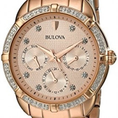 Bulova Women's 98R178 Multi-Function Dial Watch | 100% original, import SUA, 10 zile lucratoare af22508 - Ceas dama Bulova, Casual, Quartz, Analog