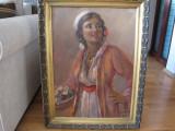 TABLOU VECHI FLORAREASA SEMNAT SAMUEL BOGDANOVICI