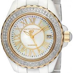 Swiss Legend Women's 20051-WWWGR Karamica Diamond-Studded | 100% original, import SUA, 10 zile lucratoare af22508 - Ceas dama Swiss Legend, Analog