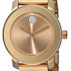 Movado Women's 3600104 Bold Gold Ion-Plated | 100% original, import SUA, 10 zile lucratoare af22508 - Ceas dama Movado, Elegant, Quartz, Analog