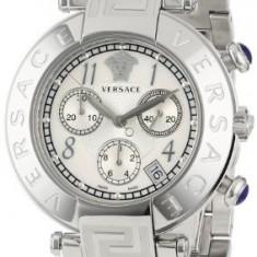Versace Women's Q5C99D498 S099 Reve Stainless | 100% original, import SUA, 10 zile lucratoare af12408 - Ceas dama Versace, Elegant, Quartz, Analog