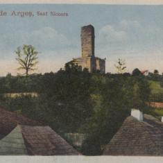 ROMANIA CARTE POSTALA CURTEA DE ARGES SANT NICOARA, LOT 1 CP - Carte Postala Muntenia dupa 1918, Necirculata, Printata