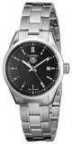 TAG Heuer Women's WV1414BA0793 Carrera Black | 100% original, import SUA, 10 zile lucratoare af12408, Casual, Quartz, Analog, Tag Heuer