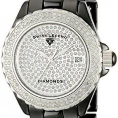 Swiss Legend Women's 20052-WBKS Karamica White | 100% original, import SUA, 10 zile lucratoare af22508 - Ceas dama Swiss Legend, Casual, Quartz, Analog