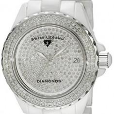 Swiss Legend Women's 20052-WWTS Karamica Diamonds   100% original, import SUA, 10 zile lucratoare af22508 - Ceas dama Swiss Legend, Casual, Quartz, Analog
